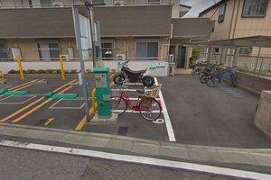 グロリアハイツバイク駐輪場