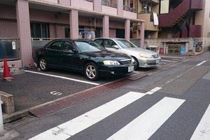 十和田マンション駐車場
