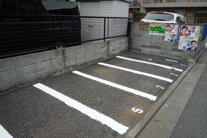 ハイツ瀬島バイク駐輪場