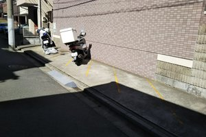 グランセルボバイク駐輪場